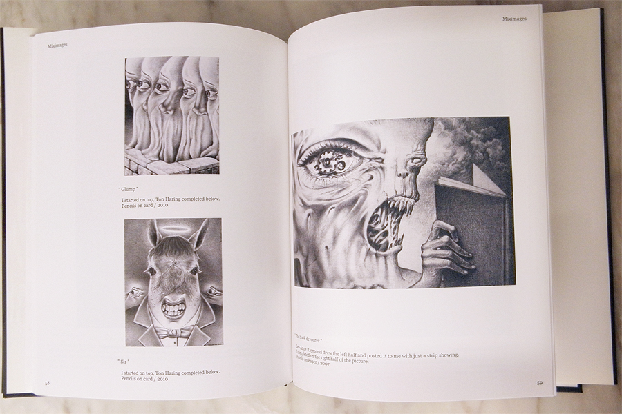 MixImages Publication of Surrealist Art Works known as Exquisite Corpse